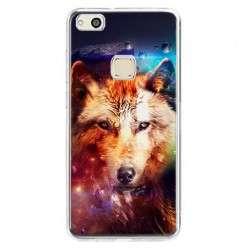 Etui na telefon Huawei P10 Lite - wilk z galaktyki.