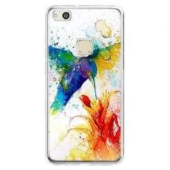 Etui na telefon Huawei P10 Lite - niebieski koliber watercolor.