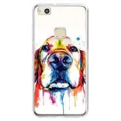 Etui na telefon Huawei P10 Lite - pies labrador watercolor.