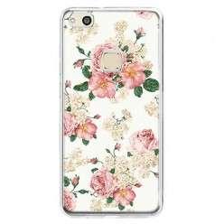 Etui na telefon Huawei P10 Lite - kolorowe polne kwiaty.