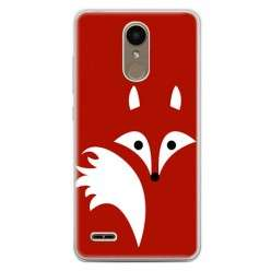 Etui na telefon LG K10 2017 - czerwony lisek.