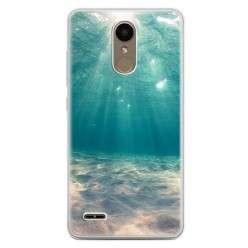 Etui na telefon LG K10 2017 - krajobraz pod wodą.