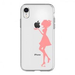 Silikonowe etui z nadrukiem na iPhone XR - kobieta.