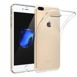 iPhone 8 Plus - silikonowe etui na telefon - przezroczyste.