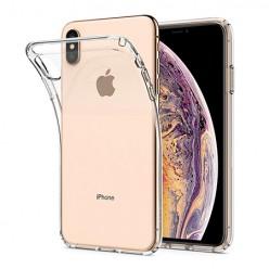 iPhone X - silikonowe etui na telefon - przezroczyste.
