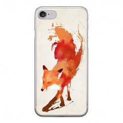 Apple iPhone 8 - silikonowe etui na telefon - Watercolor Lis.