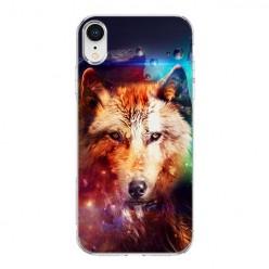 Apple iPhone XR - silikonowe etui na telefon - Wilk z galaktyki.