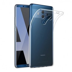 Huawei Mate 10 Pro - silikonowe etui na telefon Clear Case - przezroczyste.