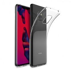 Huawei Mate 20 - silikonowe etui na telefon Clear Case - przezroczyste.