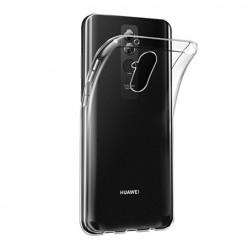 Huawei Mate 20 Lite - silikonowe etui na telefon Clear Case - przezroczyste.