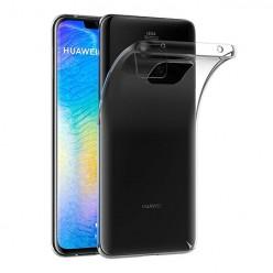 Huawei Mate 20 Pro - silikonowe etui na telefon Clear Case - przezroczyste.