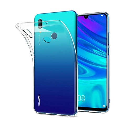 Huawei P Smart 2019 - silikonowe etui na telefon Clear Case - przezroczyste.