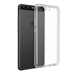 Huawei P10 - silikonowe etui na telefon Clear Case - przezroczyste.