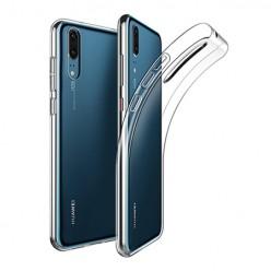 Huawei P20 - silikonowe etui na telefon Clear Case - przezroczyste.
