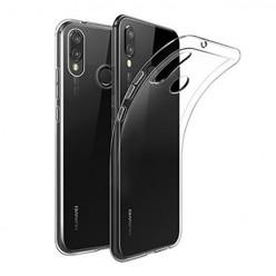 Huawei P20 Lite - silikonowe etui na telefon Clear Case - przezroczyste.