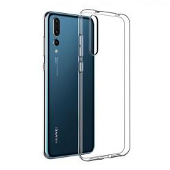 Huawei P20 Pro - silikonowe etui na telefon Clear Case - przezroczyste.