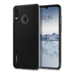 Huawei P30 Lite - silikonowe etui na telefon Clear Case - przezroczyste.