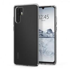 Huawei P30 Pro - silikonowe etui na telefon Clear Case - przezroczyste.