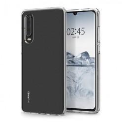 Huawei P30 - silikonowe etui na telefon Clear Case - przezroczyste.