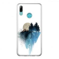 Huawei P Smart 2019 - silikonowe etui na telefon - Górski krajobraz.