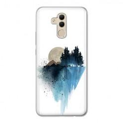 Huawei Mate 20 Lite - silikonowe etui na telefon - Górski krajobraz.
