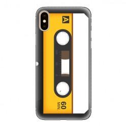 Modne etui na telefon - retro kaseta magnetofonowa.