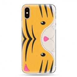 Modne etui na telefon - tygrysek face.