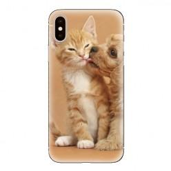 Modne etui na telefon - zakochane szczeniaki.