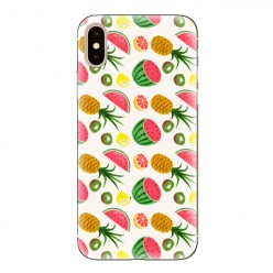 Modne etui na telefon - arbuzy i ananasy.