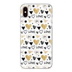 Modne etui na telefon - serduszka Love.