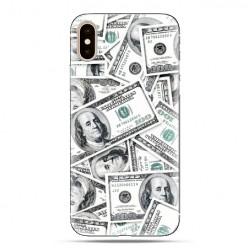 Modne etui na telefon - banknoty dolarowe.