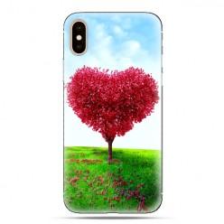 Modne etui na telefon - serce z drzewa.