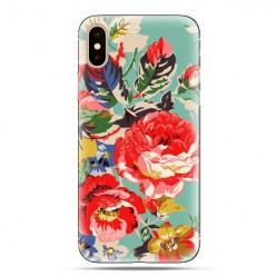 Modne etui na telefon - kolorowe róże.