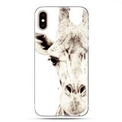 Modne etui na telefon - żyrafa.