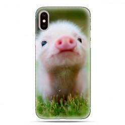 Modne etui na telefon - mała świnka.