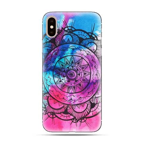 Modne etui na telefon - rozeta watercolor.