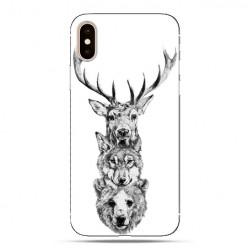 Modne etui na telefon - władcy lasu.