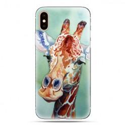 Modne etui na telefon - żyrafa watercolor.
