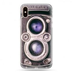 Modne etui na telefon - aparat retro rolleiflex.