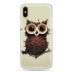 Modne etui na telefon - sowa z kawy.