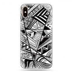 Modne etui na telefon - geometryczne wzory.