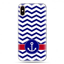 Modne etui na telefon - marynarska kotwica.