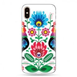 Modne etui na telefon - łowickie wzory kwiaty.