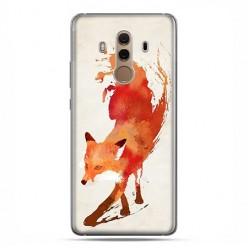 Huawei Mate 10 Pro - silikonowe etui na telefon - Watercolor Lis.