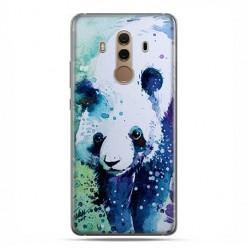 Huawei Mate 10 Pro - silikonowe etui na telefon - Miś panda watercolor.