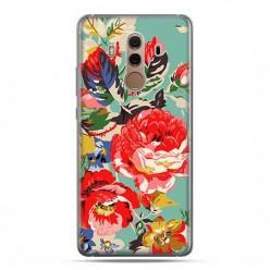 Huawei Mate 10 Pro - silikonowe etui na telefon - Kolorowe róże.