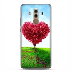 Huawei Mate 10 Pro - silikonowe etui na telefon - Serce z drzewa.
