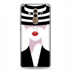 Huawei Mate 10 Pro - silikonowe etui na telefon - Kobieta w kapeluszu.