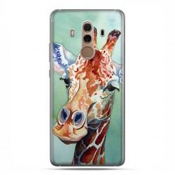 Huawei Mate 10 Pro - silikonowe etui na telefon - Żyrafa watercolor.