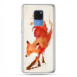 Huawei Mate 20 - silikonowe etui na telefon - Watercolor Lis.